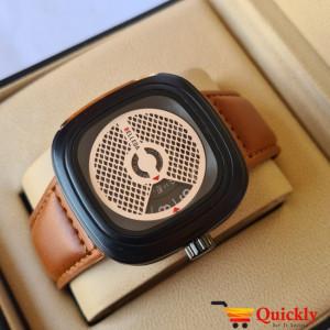 Belleda 8714 Leather Strap Watch