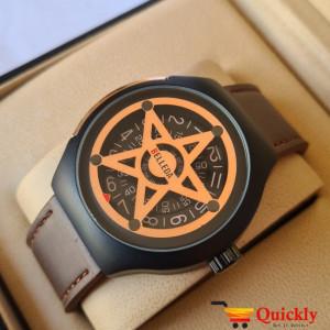 Belleda 8715 Leather Strap Watch