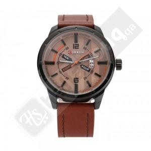 Curren M8211 Men's Watch  Brown  Leather Strap
