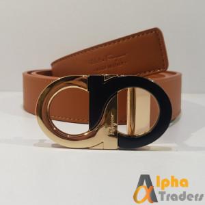 Ferragamo Buckle Belt (AT0391)
