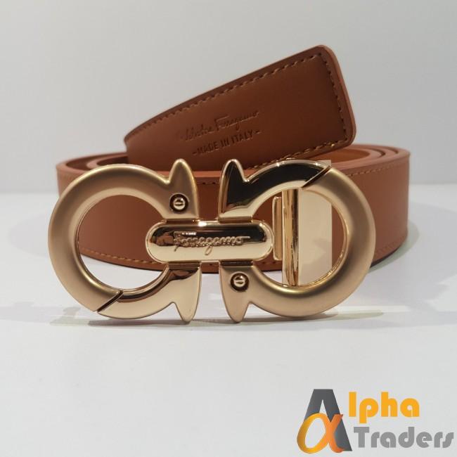 Ferragamo Buckle Belt (AT0393)