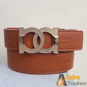 Gold Buckle Ferragamo Belt