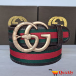 Gucci Imported Belt Gold Snake Buckle