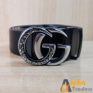 Gucci Silver Snake Buckle Belt