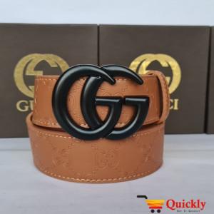 Gucci Imported Belt Black Color Buckle