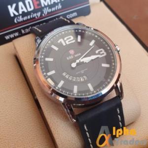 Kademan 9028G Leather Men Watch