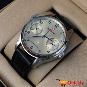 Kademan 638G Leather Men Original Watch