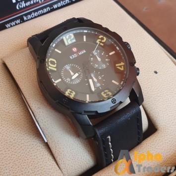 Kademan 671 Leather Men Watch