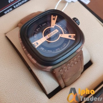 Kademan 365B-7 Watch Seven Friday Design Luxury Dial Wrist Watch