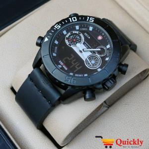Kademan K6183G Men Leather Watch