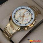 Kademan 507G Watch Chain Strap Stylish Watch