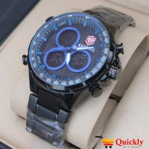 Kademan K6169 Watch Analog & Digital Chain Strap Stylish Watch