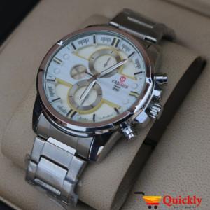 Kademan 422G Watch Chain Strap Stylish Watch With Date