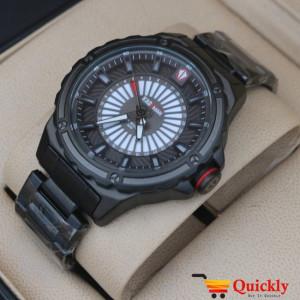 Kademan 6145 Watch Chain Strap With Date Stylish Watch