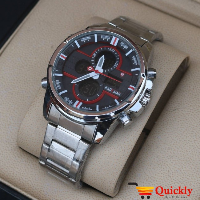 Kademan K422G Watch Chain Strap Analog