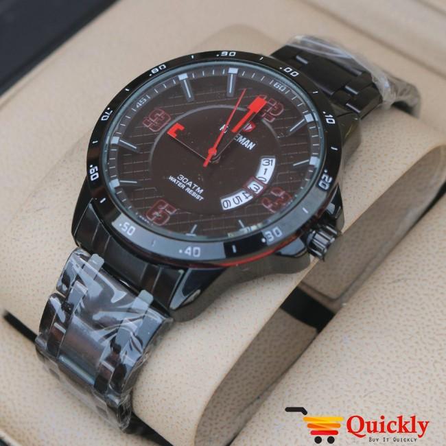 Kademan 536G Watch Chain Strap With Date