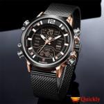 Kademan K9071 Analog Digital Watch with Date & Day