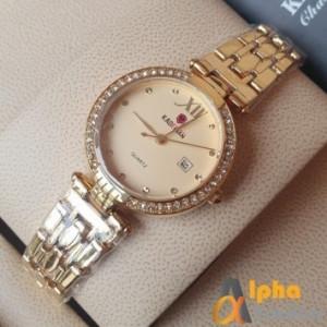 Kademan 866 Ladies Watch With Chain Strap & Date