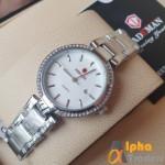 Kademan 833 Ladies Watch With Date & Chain Strap