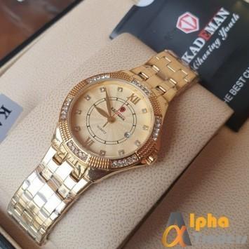 Kademan 832 Ladies Watch With Date & Chain Strap