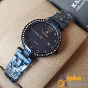 Kademan 866 Ladies Watch With Date & Chain Strap
