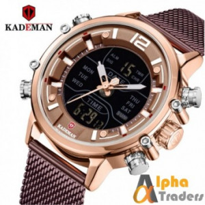 Kademan K9071 Analog Digital Chronograph Watch
