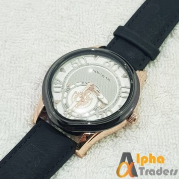 MontBlanc W045 With Down Seconds Stylish Watch