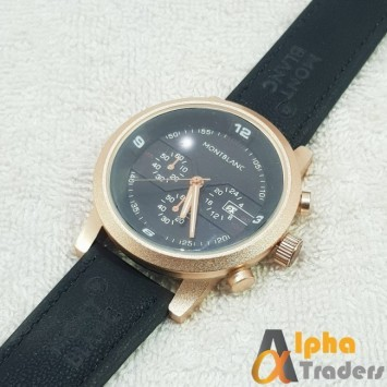 MontBlanc 0814 Leather Strap