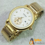 MontBlanc AM:4080 Watch With Date Rose Gold Color