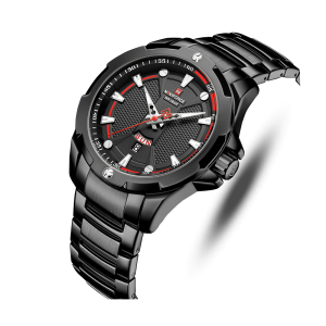 Naviforce NF9161 Chain Strap Black Color  Watch
