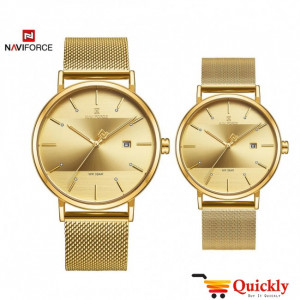 NAVIFORCE 3008 Couple Watches With Date Online