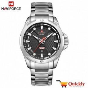 NAVIFORCE NF9161M men Chain  watch silver