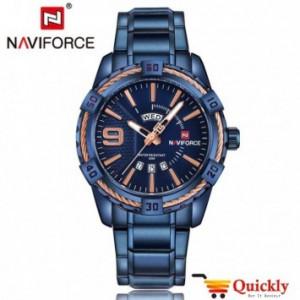NAVIFORCE NF9117M Blue chain men watch