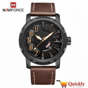 NAVIFORCE NF9154M leather strap men watch
