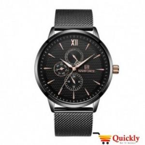 NAVIFORCE NF3003M Black Chain Watch