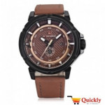 NAVIFORCE NF9083M leather man watch