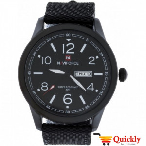 NAVIFORCE NF9101M Watch Fiber Strap With Day & Date Watch