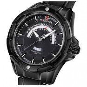 Naviforce NF-9121 Chain Strap  &  Black Color  Watch