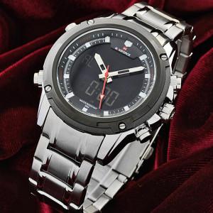 NAVIFORCE NF9050M Watch Chain Strap Analog & Digital