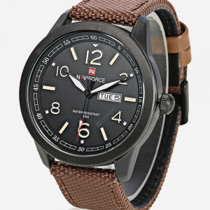 NAVIFORCE NF9101M Watch Fibre Strap With Day & Date