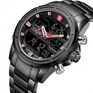 Naviforce NF-9138M Chain Strap Analog & Digital Watch