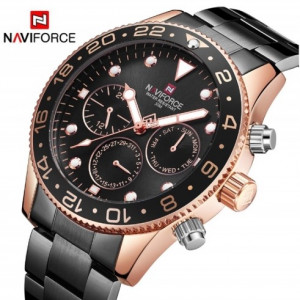NAVIFORCE NF9147M Chronograph Watch Chain Strap
