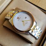 True Worth WL-3050 White Color Chain Strap Watch
