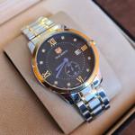 True Worth WL-2053 Black & Gold Chain Strap Watch