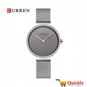Curren C9016L Silver Amazing Chain Ladies Wrist Watch Online In Pakistan