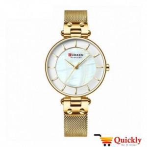 Curren C9056L Ladies Gold watch in Pakistan