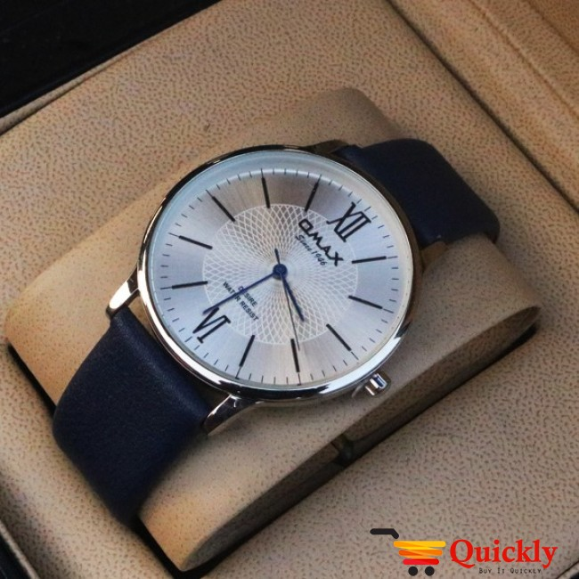Omax DX39 Is Men Leather Analog Watch With Amazing Leather Band