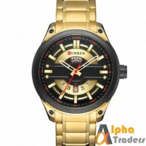 Curren 8319 Men Golden Chain Watch Online Shopping With Amazing Features