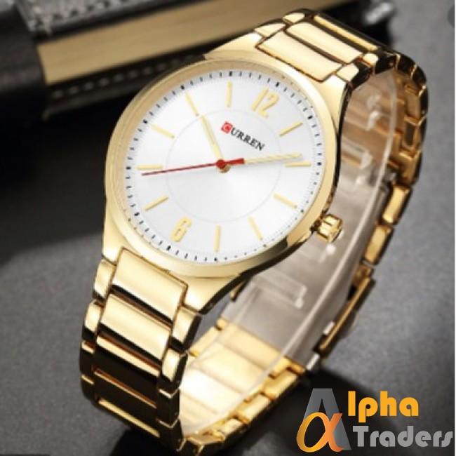 Curren 8280 Men Amazing Watch With Gold Chain