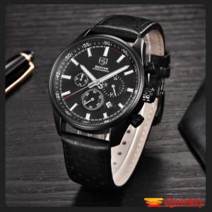 Benyar 5108 Men Leather Watch